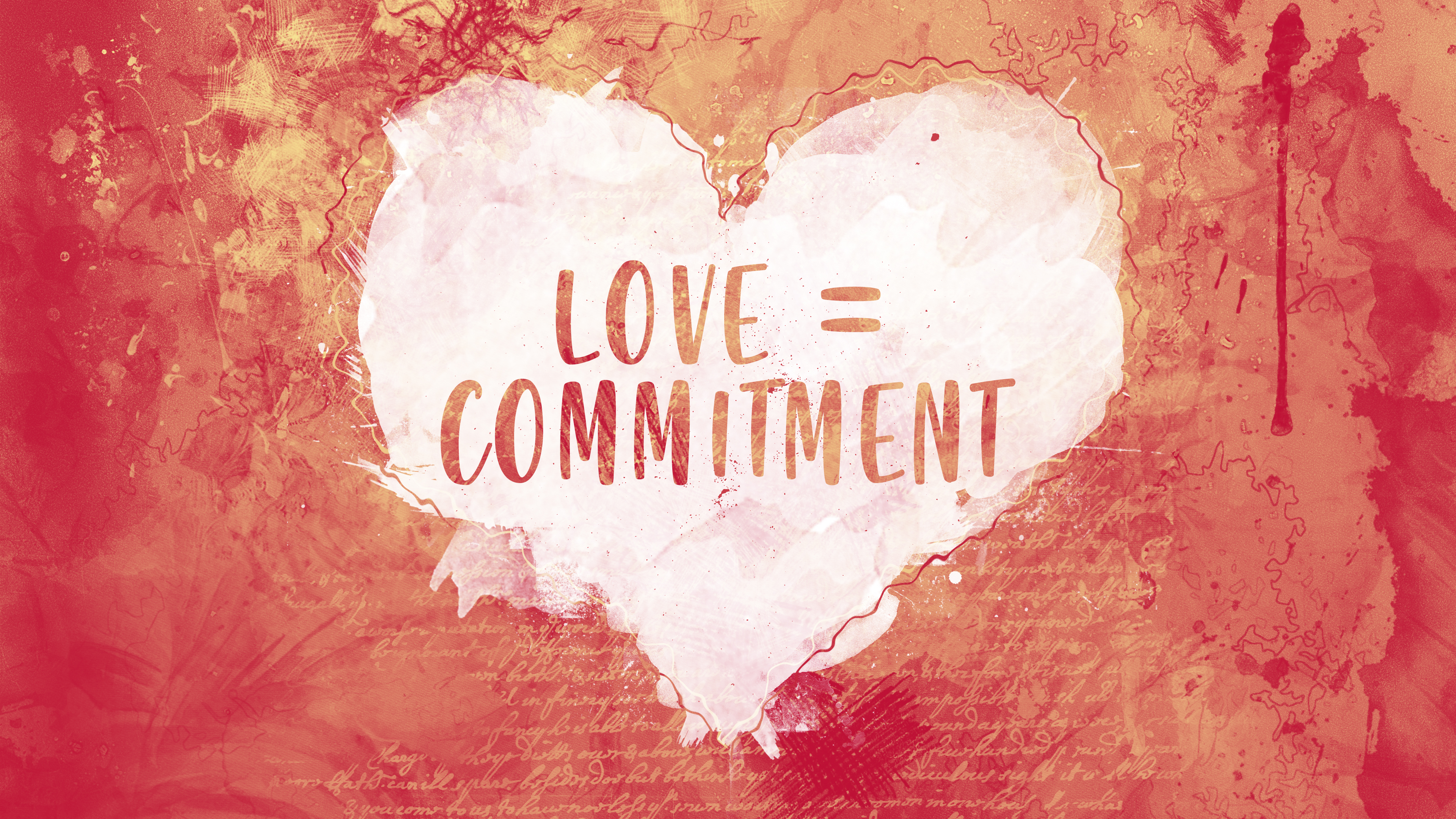 Love = Commitment